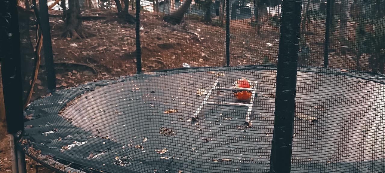 Trampolína se sítí