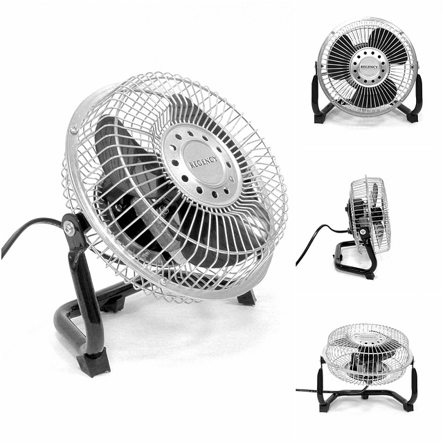 ventilátor elektronický
