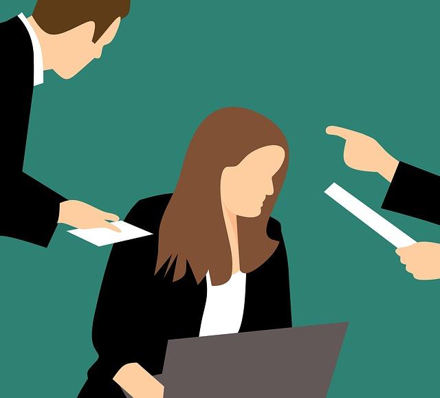 obtěžování v práci