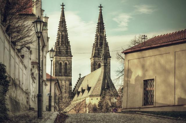 pražský kostel