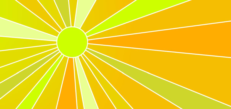 slunce léto