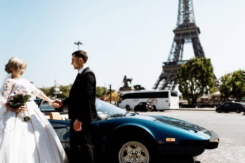 svatba auto